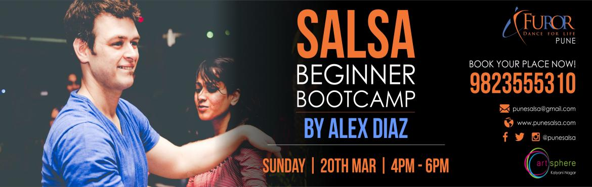 Salsa Beginner boot camp by ALEX DIAZ (NY/IND)