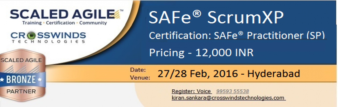 SAFe Scrum XP - Training / Certification