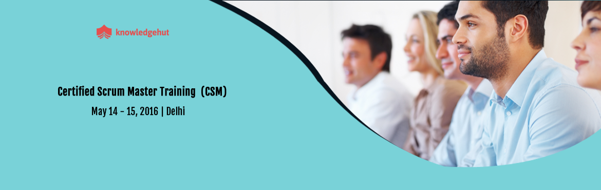 Book Online Tickets for Certified Scrum Master in Delhi, India , NewDelhi. Certified Scrum Master in Delhi, India http://www.knowledgehut.com/agile-management/csm-certification-training-delhi   Course Overview: A Certified ScrumMaster® is well equipped to use Scrum, an agile methodology to any project to ensure its