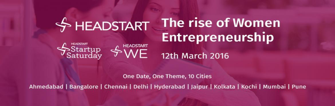 Startup Saturday Kochi March Edition - The Rise of Women Entrepreneurs
