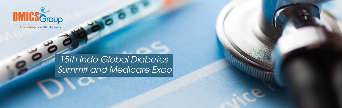 """Book Online Tickets for 15th Indo Global Diabetes Summit and Med, Hyderabad. Omics Internationalwelcomes you to The15thIndo Global Diabetes Summit & Medicare Expoto be held from November 21-23, 2016 in Hyderabad, India. The theme of Indo Diabetes Expo-2016 is """"Emphasis on treatments and explo"""
