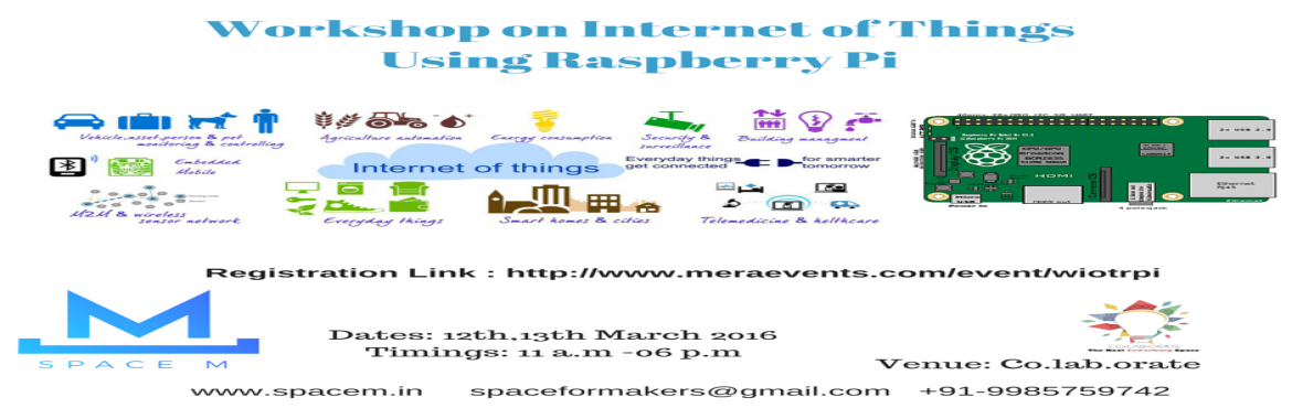 Workshop on Internet of Things Using Raspberry Pi
