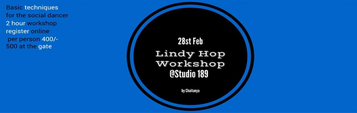 Book Online Tickets for Lindy Hop basic course, Mumbai. Basic techniques for the social dancer, a two hour workshop. The primary audience of this workshop is social dancers who have attended one or two socials and are comfortable with the rhythm of the music. So if you are comfortable with doing