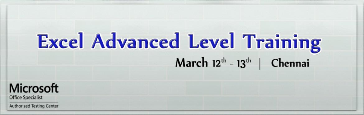 Excel Advanced Level Training in Chennai