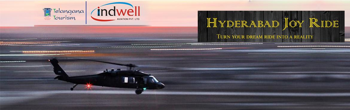 Book Online Tickets for HYDERABAD HELICOPTER JOY RIDES, Hyderabad. Brief Deion: Tourism Department, Government of Telangana has decided to introduce concept of Helicopter joy ride in the city of Hyderabad. The Aim if introducing helicopter ride in the city of Hyderabad can be offering a compelling experience to the