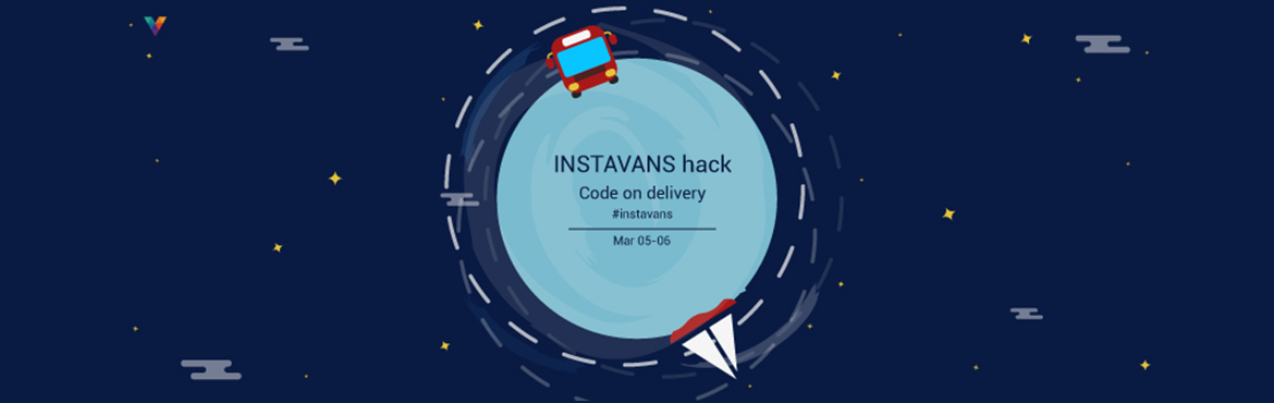 Book Online Tickets for INSTAVANS Hack, Bengaluru. Instavans is a platform that connects local shippers and local truckers in real-time within the city. Taking advantage of technology, Instavans  is a disruptive force in this space.Gear up hackers and let\'s go to deliver the code at Instavans h