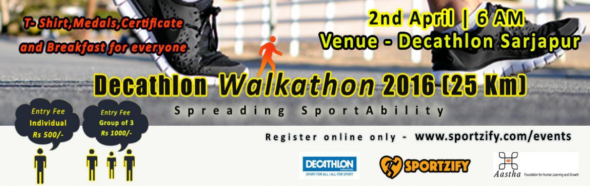 DECATHLON WALKATHON 2016