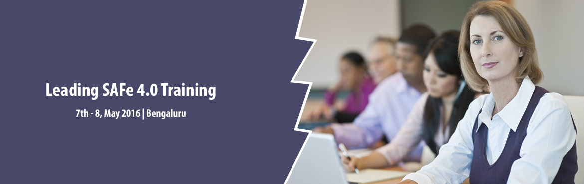 Book Online Tickets for Leading SAFe 4.0 Training Course in Bang, Bengaluru. http://www.knowledgehut.com/agile-management/leading-safe-certification-training-bangalore  Overview:   The true success of an enterprise is its ability to make good on revenue, brand recognition, customer satisfaction, and employee welfa