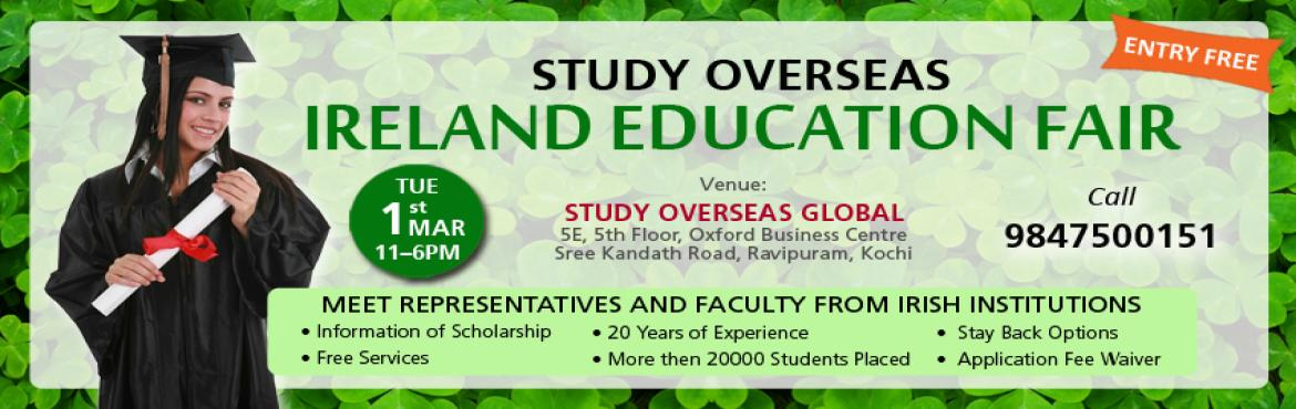 Study Overseas Ireland Education Fair in Kochi
