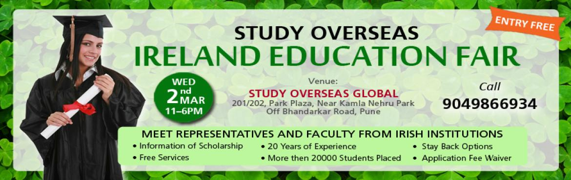 Study Overseas Ireland Education Fair in Pune