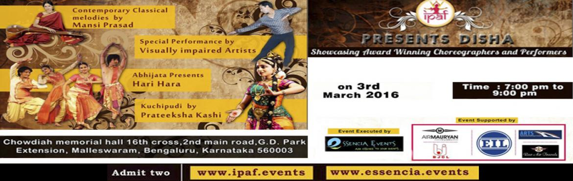 International Performing Arts Festival presents-Disha