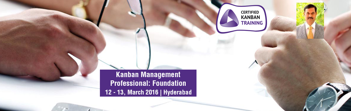 Book Online Tickets for Kanban Management Professional: KMP-II w, Hyderabad. Course Name: Kanban Management Professional – II (KMP-II) certification course of Lean Kanban University Candidates with KMP-I participation certificate will gain the Kanban Management Professional (KMP) credentials.   Class room participa