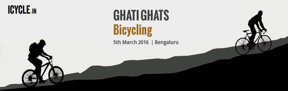 Book Online Tickets for GHATI GHATS Bicycling Event, Bengaluru. GHATI SUBRAMANYA – HIREMUDDENAHALLI: Level 1:  Among the easiest of ghats to peddle, this trail (approx 30kms) covers the surroundings of Ghati Subramanya temple.   If you have gone easy on the trail before and still don't want