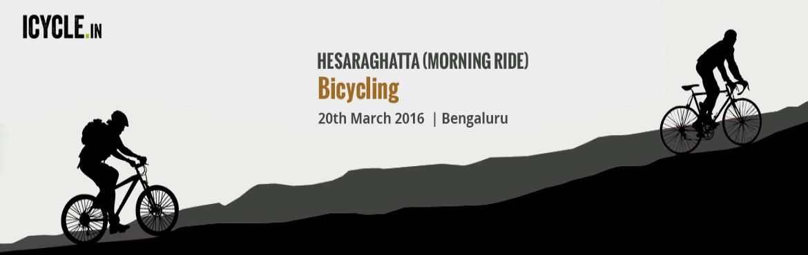 HESARAGHATTA (MORNING RIDE) Bicycling Event