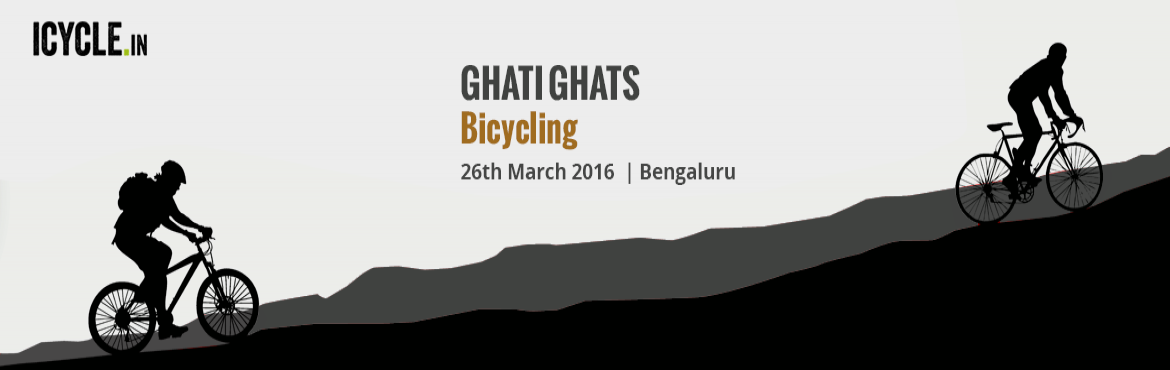 Book Online Tickets for GHATI GHATS Bicycling Event 26-MAR-2016, Bengaluru. GHATI SUBRAMANYA – HIREMUDDENAHALLI: Level 1: Among the easiest of ghats to peddle, this trail (approx 30kms) covers the surroundings of Ghati Subramanya temple.  If you have gone easy on the trail before and still don't want