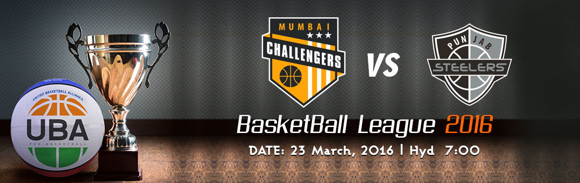 Book Online Tickets for UBA Season 2 Mumbai Challenger Vs Punjab, Hyderabad. United Basketball Alliance (UBA) Season 2   HYDERABAD, INDIA UBA is India's professional basketball league with teams based in key cities across India. The UBA television team includes Emmy Award winners from the United States and an exper