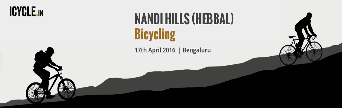 NANDI HILLS (HEBBAL) Bicycling Event 17-APR-2016