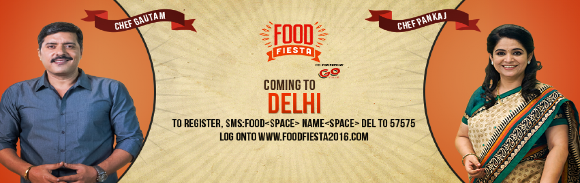 Book Online Tickets for Living Foodz - Food Fiesta, Delhi, NewDelhi. Food Fiesta in your city!Living Foodz, the international food & lifestyle channel offers you shows that you love to watch. With us you have entered into the ERA OF FOOD-TAINMENT. We know you love our celebrity chefs - Pankaj bhadouria and Ga