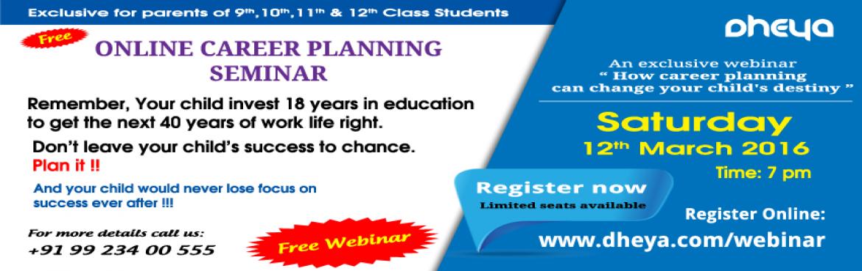 Online Career Planning Seminar