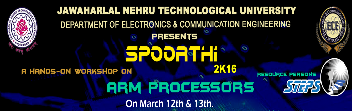 Book Online Tickets for Hands-On Workshop on ARM Processors, Hyderabad. Hands-On Session Outlay:  Architecture of TIVA - ARM Cortex M4 Working with CCS IDE, Programming, Debugging Interface IO Ports (LEDs / Keyboard) Handling Interrupts on IO Ports Working with Timers, Counters and Other Operating Modes Enabling DMA - Di