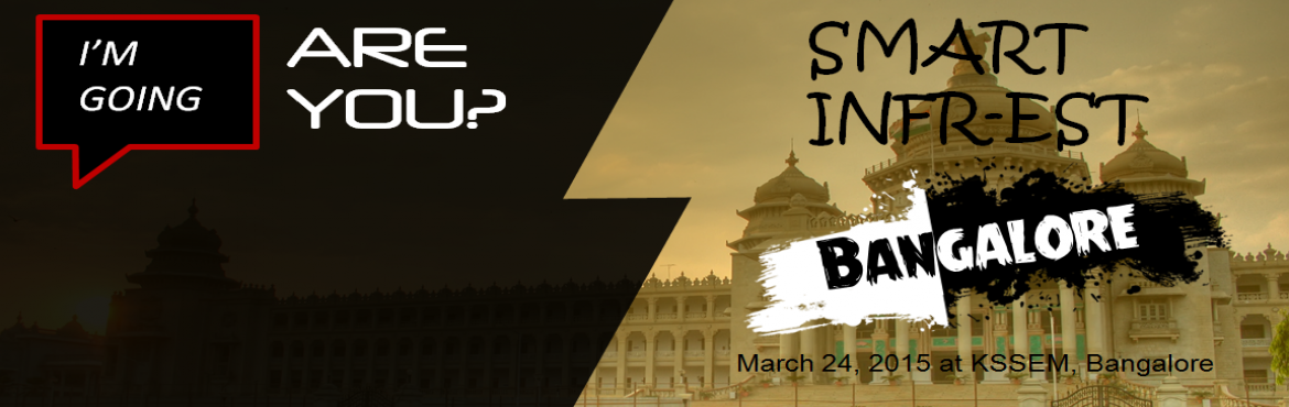 Book Online Tickets for Smart Infr-Est, Bengaluru. The main objective of this fest is to motivate students to showcase their innovative ideas, to improve fellowship among civil engineers and to nurture leadership qualities among students. Further, it will help in internships, apprenticeships, project