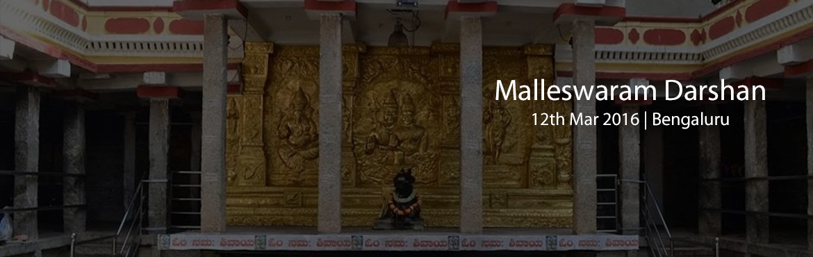 Book Online Tickets for Malleswaram Darshan., Bengaluru. This is our new walk in one of the oldest suburbs of the \
