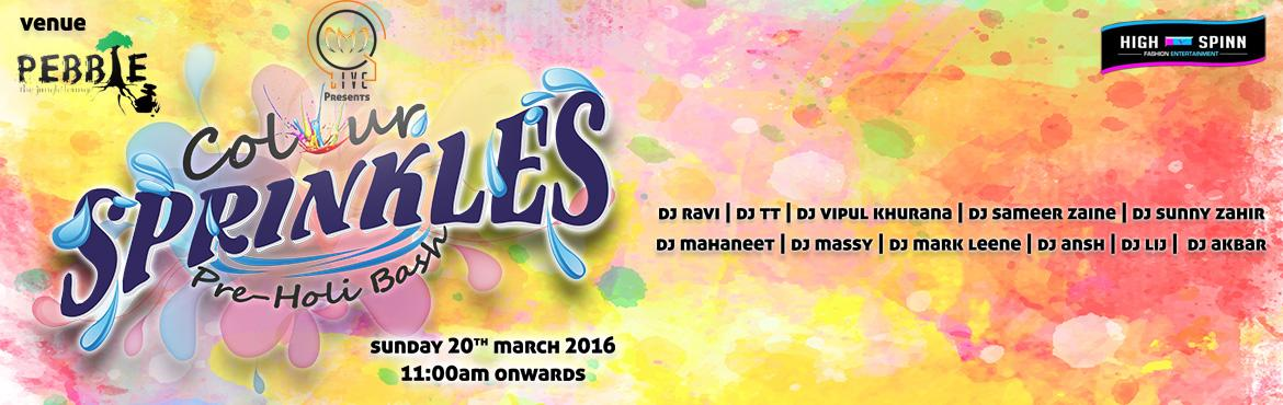 Book Online Tickets for Holi Bash 2016, Bengaluru. This Holi come celebrate with us at the biggest Holi bash and one of the best outdoor venue\'s in Bangalore - PEBBLE with 2 stages and over 8 of the top Dj\'s of Bangalore spinning all your fav tunes all through the day....A Special Holi menu with lo