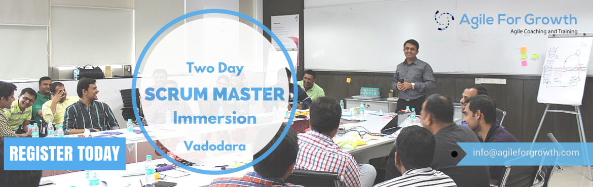 Scrum Master Immersion Vadodara