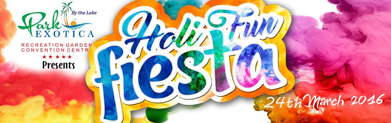 Holi Fun Fiesta 2016 at Park Exotica