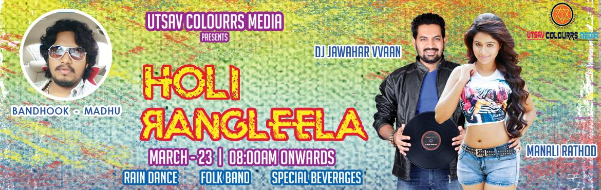 Book and Buy Online tickets for Rangleela holi festival Tickets 2016 in Hyderabad. Let's experience the special Holi festival with colors, rain dance,
