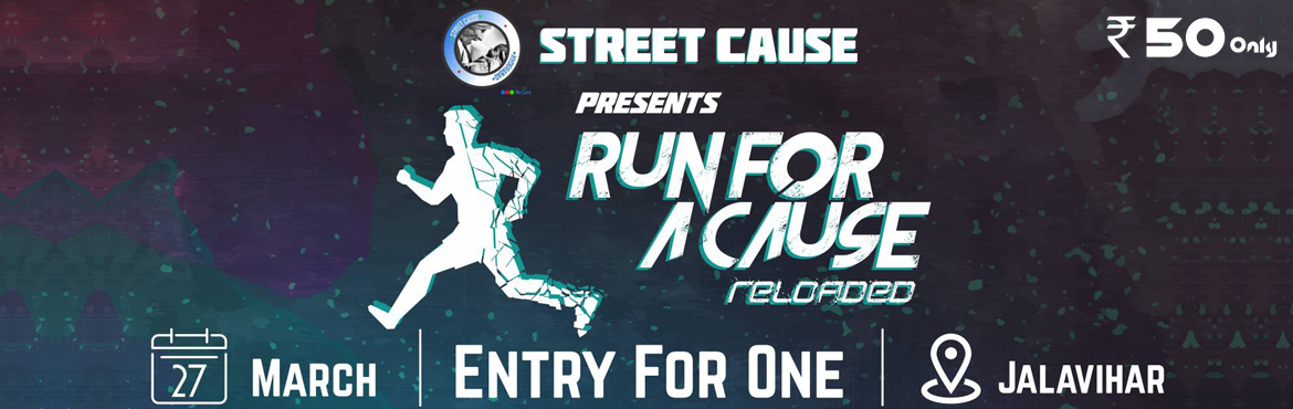 Book Online Tickets for Run For A Cause Reloaded, Hyderabad. Street Cause is an NGO, considered to be the most active NGO in the twin cities, provides the perfect platform for all those enthusiastic and passionate youngsters to do the little they can do to bring about the desired change in the society,Street C