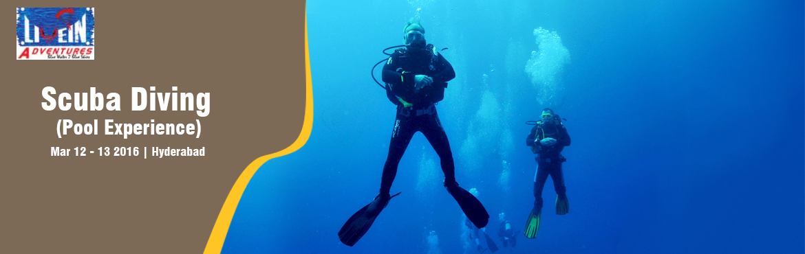 Book Online Tickets for Discover Scuba Diving in the Pool, Hyderabad. The PADI Discover Scuba Diving experience The New Year has started and you know what that means – resolution time. You might have made the same tired New Year's resolutions such as joining a gym or being more productive at work and that&r