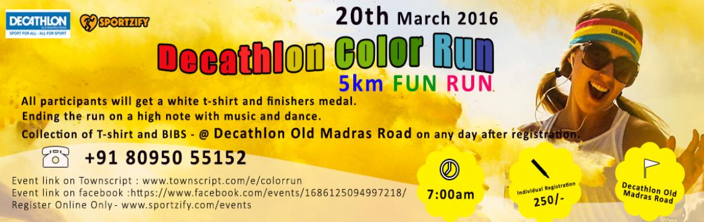 Decathlon Color Run