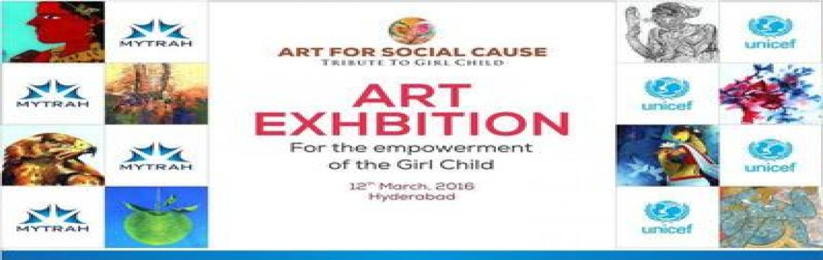 Book Online Tickets for Art Exhibition: Art for Social Cause, Hyderabad. Mytrah Energy presents Art Exhibition: Art for a Social Cause Enjoy the works of renowned painters from around the country. And extend a helping hand to those in need. An Exhibition of art by prominent painters of India. The proceeds of which will he