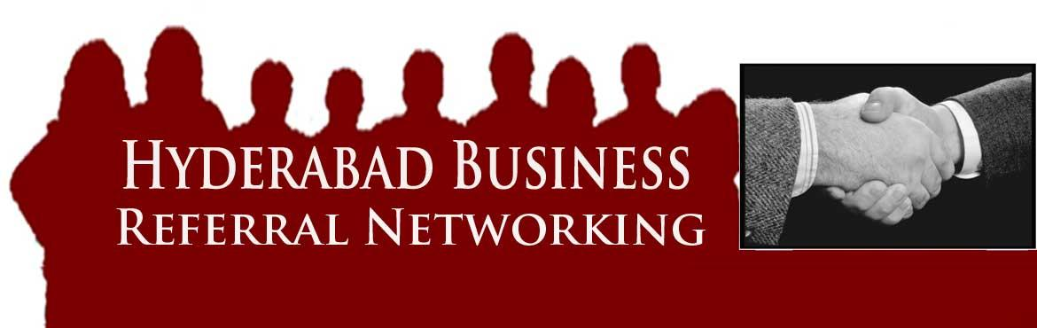 Book Online Tickets for Hyderabad Business Referral Networking M, Hyderabad. Dear Business Owners,   Come and promote your business to other members to grow your Business   We need more committed business owners and sales professional who are committed to grow their business and sales. We need bigger participation a