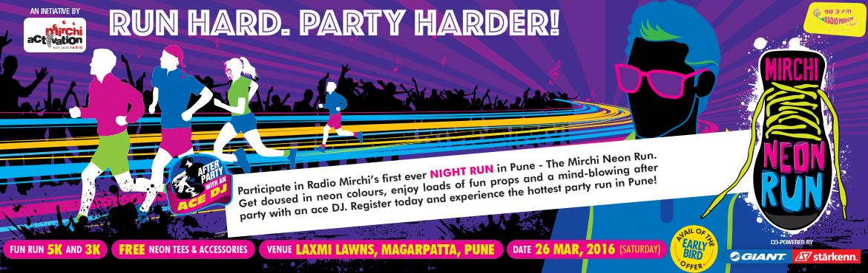 Mirchi NEON Run, Pune