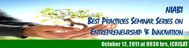 Book Online Tickets for Inspiring Agribusiness Start-ups, Hyderabad. NIABI Best Practices Seminar Series The Network of Indian Agri-Business Incubators (NIABI) invites allenthusiastic agripreneursto participate in a seminar on Inspiring agribusiness start-ups LIVE through video conferencing on October 12,