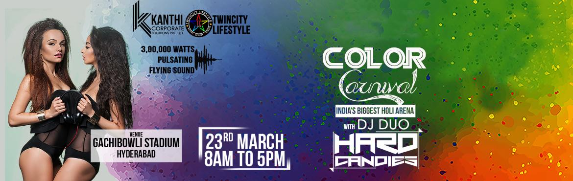 Book and Buy Online tickets for Holi 2K16 Colors Carnival Tickets in Hyderabad. Let's experience the special Holi festival with colors, rain dance, DJ