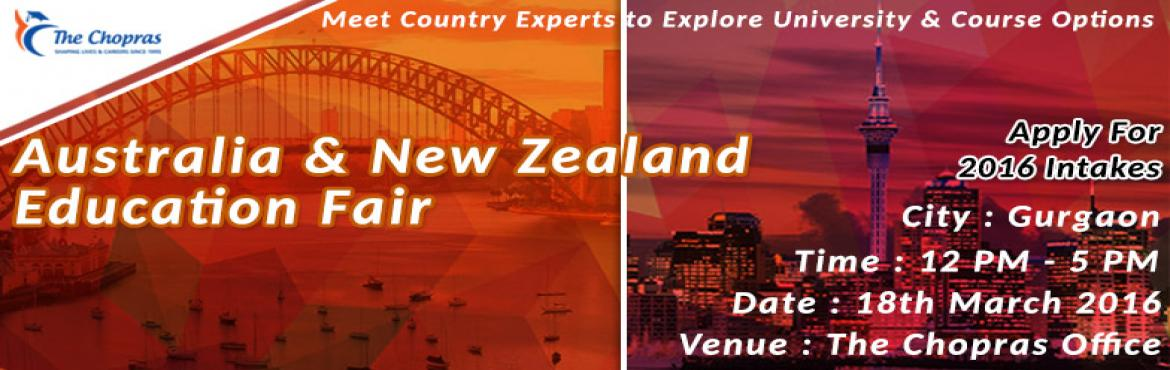 The Chopras is Organizing Education Fairs for Australia and New Zealand Universities