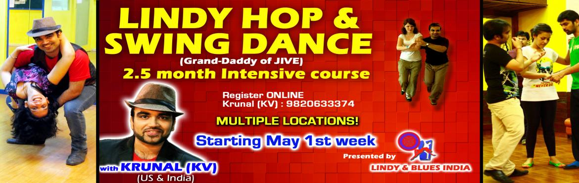 LINDY HOP SWING INTENSIVE CLASSES - BEGINNER and IMPROVER LEVEL 1