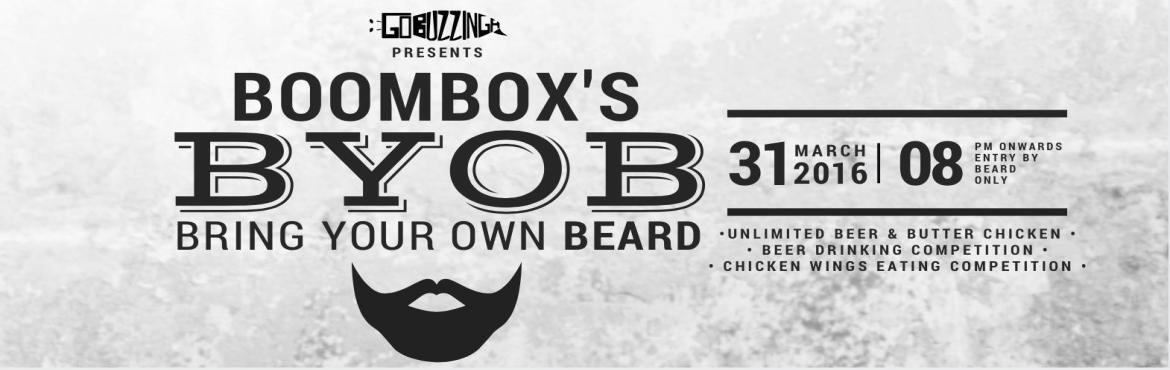 Book Online Tickets for BYOB - Bring your own Beard, NewDelhi. Beards. Beers. Butter Chickens. Enough Said.Unlimited Beer, Unlimited Innovative Butter Chicken dishes such as Butter Chicken Wings, Butter Chicken Momos, Butter Chicken Tacos, Butter Chicken Dip with Baby Naans and more!We have Banta Bar & some