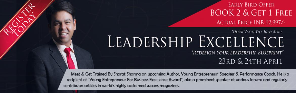 Leadership Excellence Workshop Hyderabad April