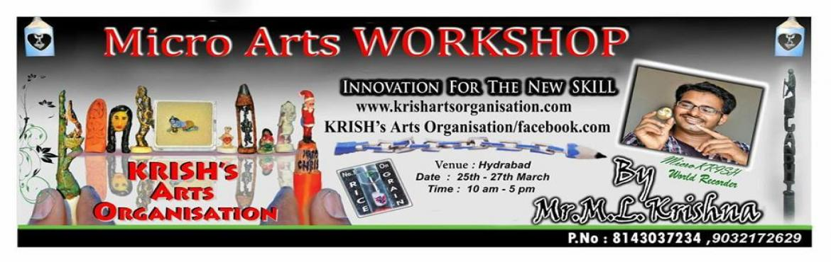 Micro Art Workshop In Hyderabad