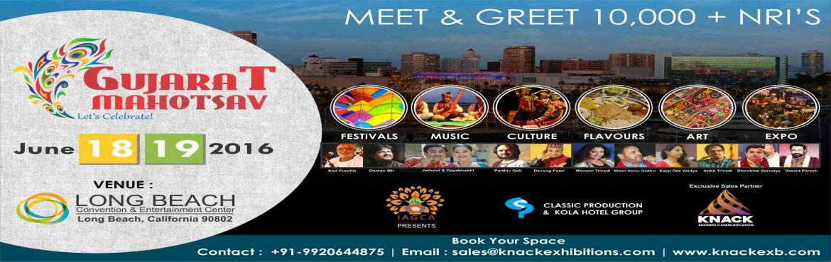 Book Online Tickets for Gujarat Mahotsav, Long Beach. The fair endeavours to make the overseas Indian youth more aware of the different facets of life and culture in India. It is a must-visit event if they are planning a trip to India, considering a property purchase, or just want to know more about the