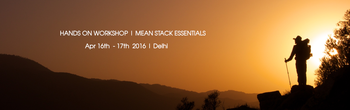 HANDS ON WORKSHOP|| MEAN STACK ESSENTIALS || 2 DAYS || GURGAON
