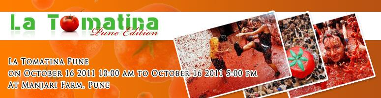 Book Online Tickets for La Tomatina @Pune on 16th Oct 2011 , Pune. Please Note : We are not using Tomatoes, it\\'s going to be a fun event, we are using Jelly balls as a representation of Tomatos.