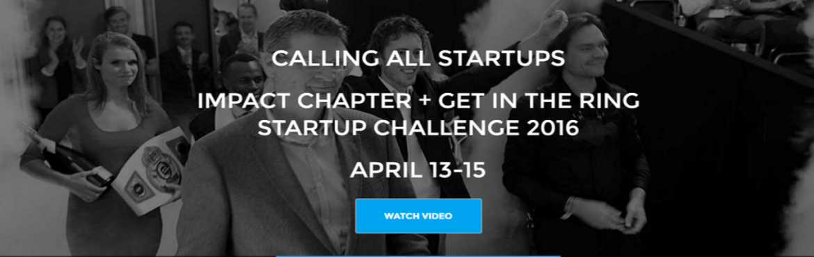 IMPACT CHAPTER STARTUP CHALLENGE HYD 2016