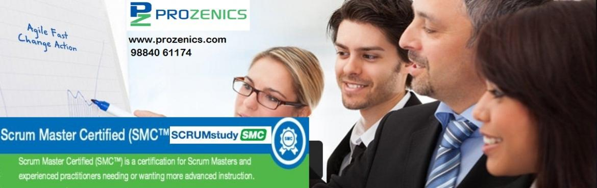 Book Online Tickets for Scrum Master Certification (SMC), Chennai. Course Overview  Scrum Master Certified (SMC™) professionals are facilitators who ensure that the Scrum Team is provided with an environment conducive to completing the project successfully. The Scrum Master guides, facilitates, and teach