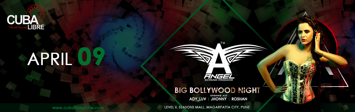 Big Bollywood Night with Dj Angle at Cuba Libre
