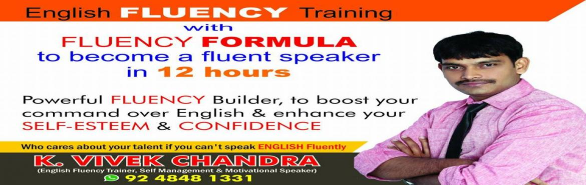 English Fluency Training By Tr.Vivek Chandra